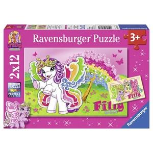 "Ravensburger (07577) - ""Scarlet"" - 12 pezzi"