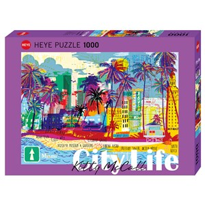 "Heye (29802) - ""I love Miami!"" - 1000 pezzi"