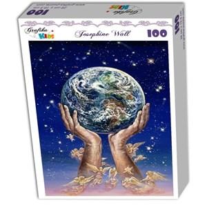 """Grafika Kids (01518) - Josephine Wall: """"Hands of Love"""" - 100 pezzi"""