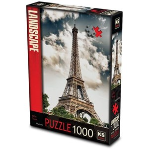 "KS Games (11465) - ""Eiffel Tower, Paris"" - 1000 pezzi"