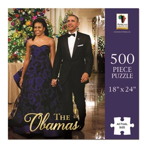 """African American Expressions (PUZ-09) - """"The Obamas"""" - 500 pezzi"""