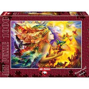 "Art Puzzle (4356) - ""Butterfly's Dream"" - 1000 pezzi"