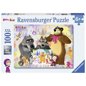 "Ravensburger (10590) - ""Masha and the Bear"" - 100 pezzi"