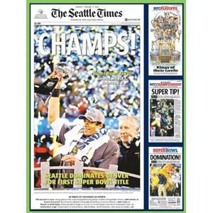 """White Mountain (1062) - """"Seattle Seahawks"""" - 550 pezzi"""