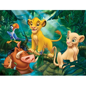 "Nathan (86313) - ""The Lion King, Simba and Friends"" - 30 pezzi"