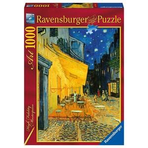 "Ravensburger (15373) - Vincent van Gogh: ""Cafe Terrace by Night"" - 1000 pezzi"