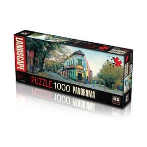 "KS Games (11265) - ""Calle Caminito, Argentina"" - 1000 pezzi"