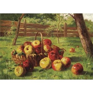 "Gold Puzzle (60768) - Karl Vikas: ""Apple Harvest"" - 500 pezzi"