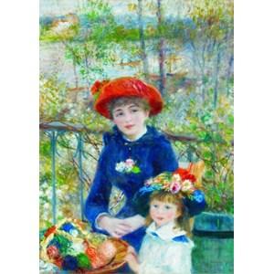 "Gold Puzzle (60386) - Pierre-Auguste Renoir: ""Two Sisters on the Terrace"" - 1000 pezzi"