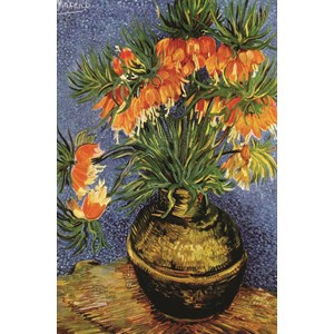 "Gold Puzzle (60911) - Vincent van Gogh: ""Fritillaires in a Copper Vase"" - 1000 pezzi"