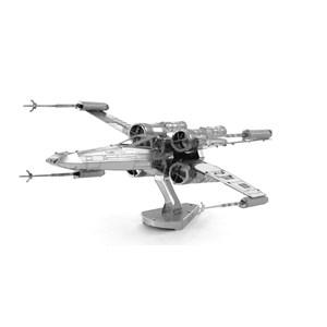 "Metal Earth (Metal-Earth-MMS257) - ""Star Wars, X-Wing Star Fighter"" - 25 pezzi"