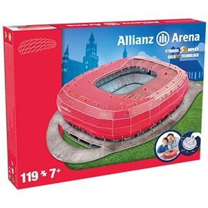 """Nanostad (Bayern) - """"Allianz Arena, Bayern"""" - 119 pezzi"""