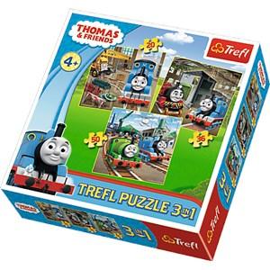 "Trefl (34821) - ""Thomas & Friends"" - 20 36 50 pezzi"