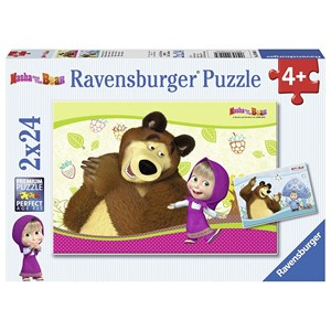 "Ravensburger (09046) - ""Masha and the Bear"" - 24 pezzi"