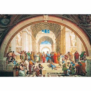 "Clementoni (31404) - Raphael: ""The School of Athens"" - 1000 pezzi"