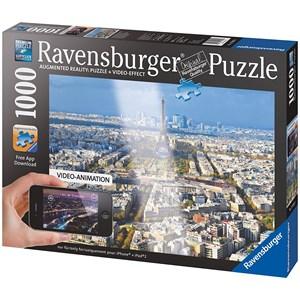 "Ravensburger (19302) - ""Above The Roofs Of Paris"" - 1000 pezzi"