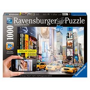 "Ravensburger (19306) - ""Colorful Activity at Times Square, New York"" - 1000 pezzi"