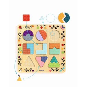 "Djeco (01802) - ""Geometric figures"""