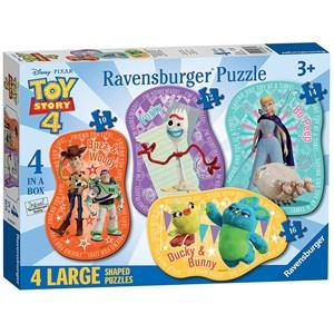 """Ravensburger (06835) - """"Toy Story"""" - 10 12 14 16 pezzi"""