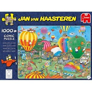 "Jumbo (20024) - Jan van Haasteren: ""Hooray, Miffy 65 years"" - 1000 pezzi"