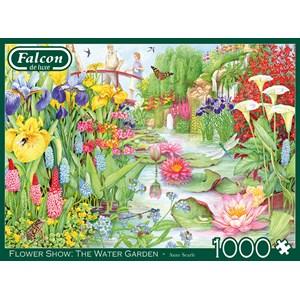 """Buffalo Games (11282) - """"Flower Show, The Water Garden"""" - 1000 pezzi"""
