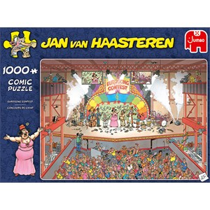 """Jumbo (20025) - Jan van Haasteren: """"Eurosong Contest"""" - 1000 pezzi"""