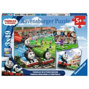 "Ravensburger (08037) - ""Thomas Watches Soccer"" - 49 pezzi"