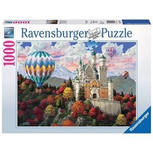 """Ravensburger (19857) - """"Neuschwanstein Daydream"""" - 1000 pezzi"""