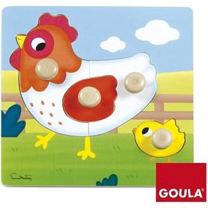 "Goula (53052) - ""Chicken"" - 4 pezzi"