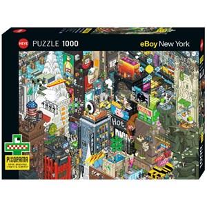 """Heye (29914) - eBoy: """"New York Quest"""" - 1000 pezzi"""