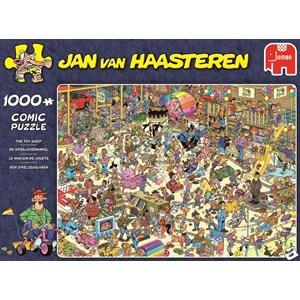 """Jumbo (19073) - Jan van Haasteren: """"The Toy Shop"""" - 1000 pezzi"""