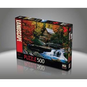 "KS Games (11336) - Katherine Hurtley: ""Autumn Chalet"" - 500 pezzi"