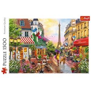 "Trefl (26156) - ""Paris charm"" - 1500 pezzi"