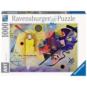 "Ravensburger (14848) - Vassily Kandinsky: ""Yellow, Red, Blue"" - 1000 pezzi"