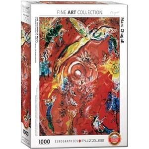 "Eurographics (6000-5418) - Marc Chagall: ""The Triumph of Music"" - 1000 pezzi"