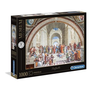 "Clementoni (39483) - Raphael: ""The School of Athens"" - 1000 pezzi"