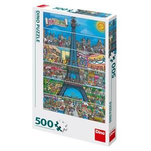 "Dino (50237) - ""Paris, France"" - 500 pezzi"
