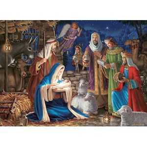 "Cobble Hill (80248) - Liz Goodrick-Dillon: ""Miracle in Bethlehem"" - 1000 pezzi"