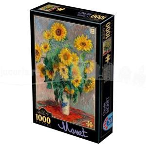 """D-Toys (75864) - Claude Monet: """"Bouquet of Sunflowers"""" - 1000 pezzi"""