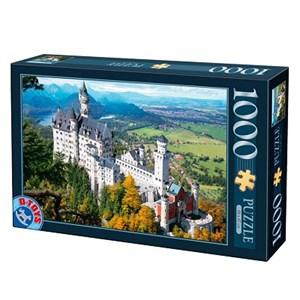"D-Toys (70654) - ""Neuschwanstein Castle, Germany"" - 1000 pezzi"