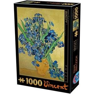 """D-Toys (75888) - Vincent van Gogh: """"Vincent Van Gogh"""" - 1000 pezzi"""