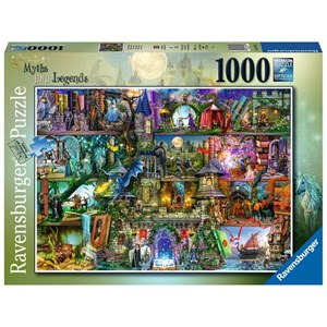 "Ravensburger (16479) - ""Myths and Legends"" - 1000 pezzi"
