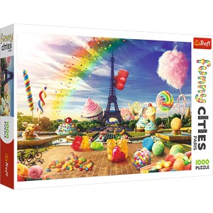 "Trefl (10597) - ""Sweet Paris"" - 1000 pezzi"