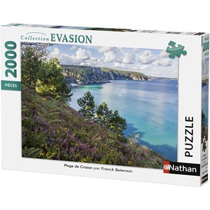 "Nathan (87879) - ""Beach of Crozon"" - 2000 pezzi"