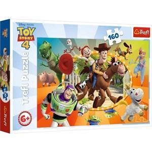 """Trefl (15367) - """"Toy Story 4"""" - 160 pezzi"""