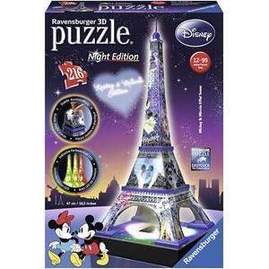 "Ravensburger (12520) - ""Disney Eiffel Tower"" - 216 pezzi"