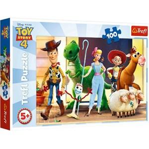 """Trefl (16356) - """"Toy Story 4"""" - 100 pezzi"""