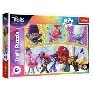 "Trefl (15396) - ""Trolls World Tour"" - 160 pezzi"
