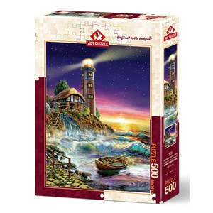 "Art Puzzle (4210) - ""The Lighthouse"" - 500 pezzi"