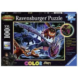 """Ravensburger (13710) - """"Dragon"""" - 100 pezzi"""
